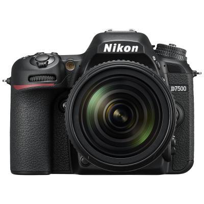 尼康D7500 单反套机 18-300MM镜头(礼盒版+电池+128G高速卡) 照相机