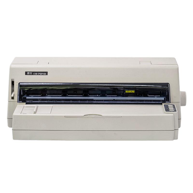 得实 DS-7310 证簿打印机 24针136列平推