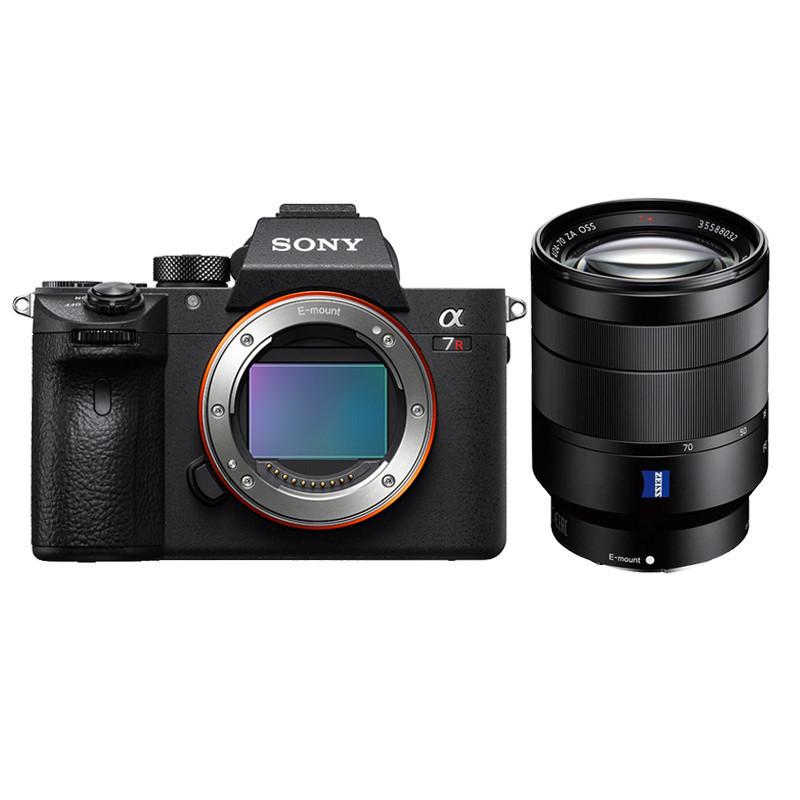 索尼(SONY)Alpha 7R II全画幅微单照相机 24-70MM F4镜头(64G内存+三脚架+相机包)