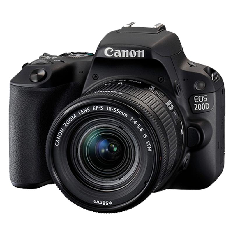 佳能 EOS-200D 照相机 单反套机 18-55mm镜头