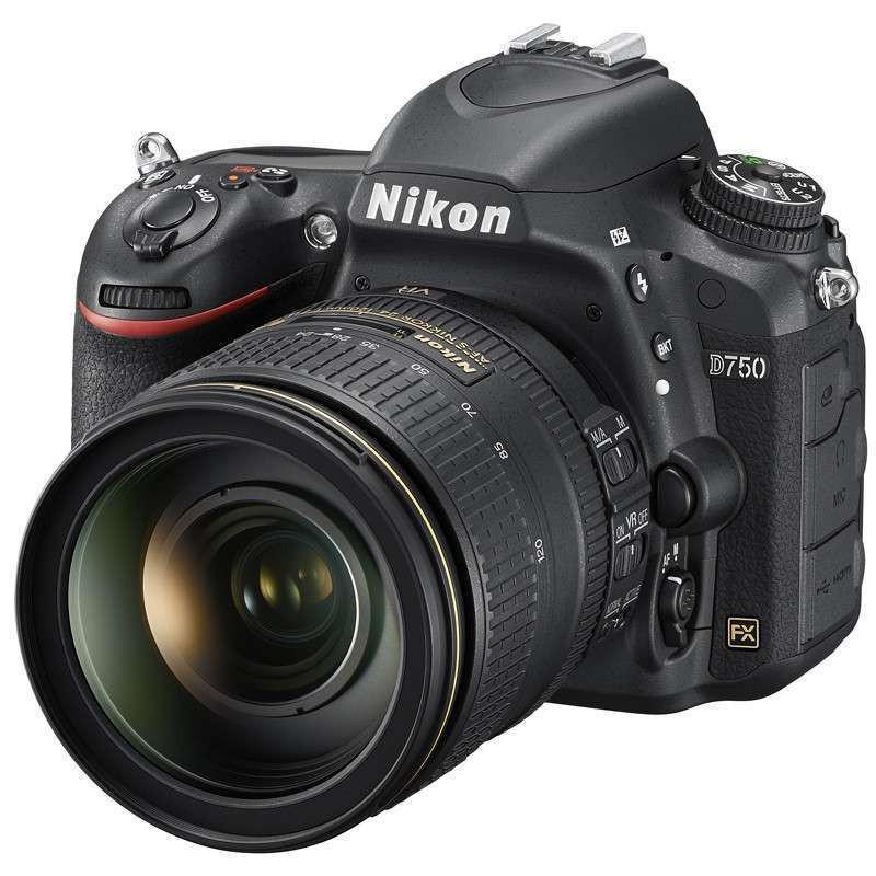 尼康 D750 全画幅单反套机 24-120MM镜头(含尼康包包)照相机