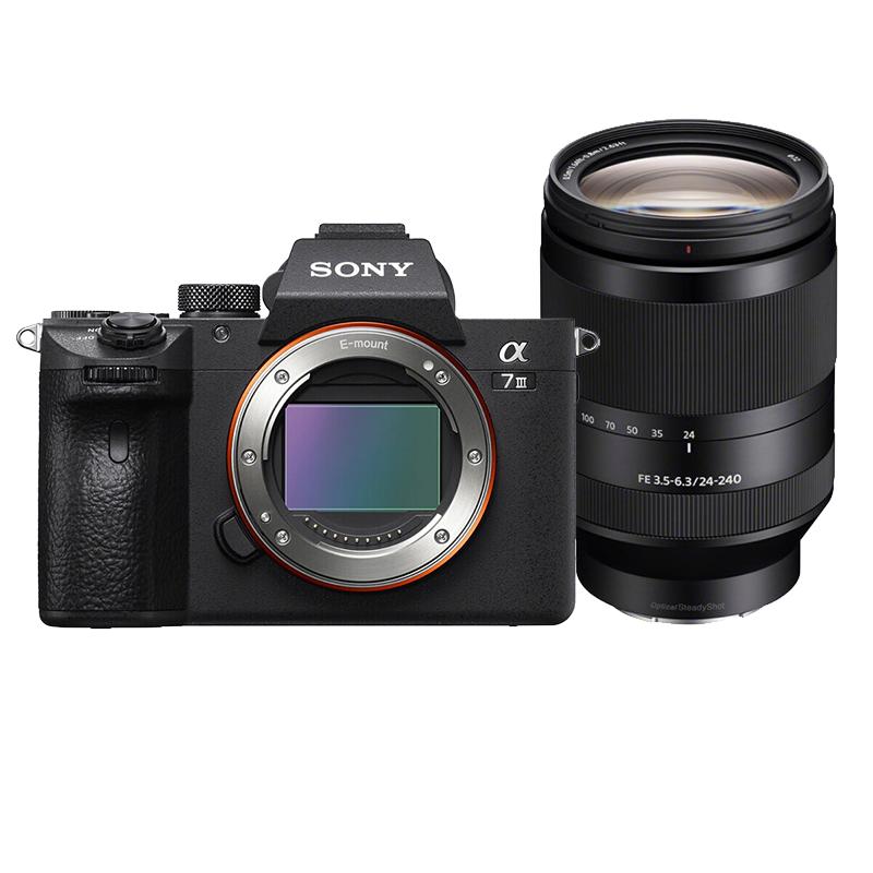 索尼(SONY)ILCE-7M3/A7M3 全画幅微单照相机 FE 24-105mm套机
