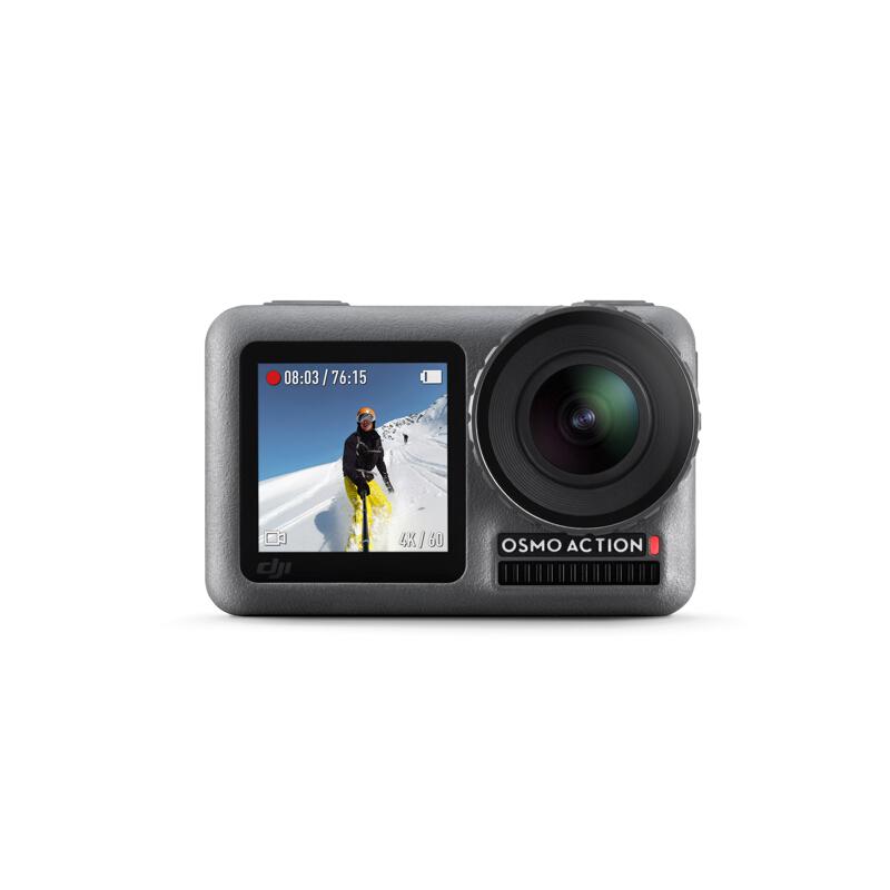 DJI 大疆 Osmo Action 灵眸运动相机 前后双屏防抖防水 照相机(含拍杆,胸带)