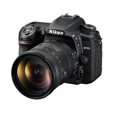 尼康D7500 单反套机  18-300MM镜头(32G内存+相机包)照相机