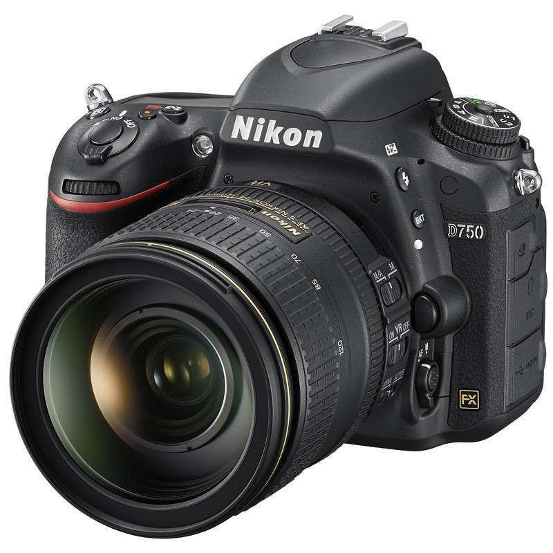 尼康 D750 全画幅单反套机 24-120MM镜头(含尼康包包+128G内存+多功能脚架)照相机