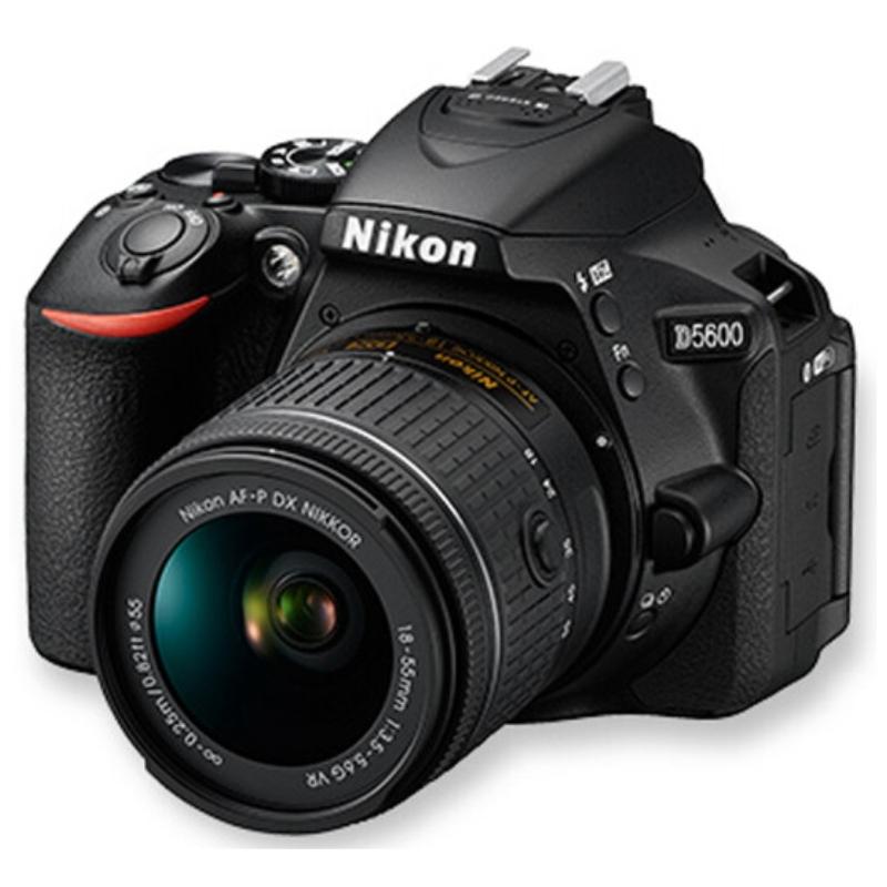 尼康/Nikon D5600 18-55mm套机(128G内存+相机包) 照相机