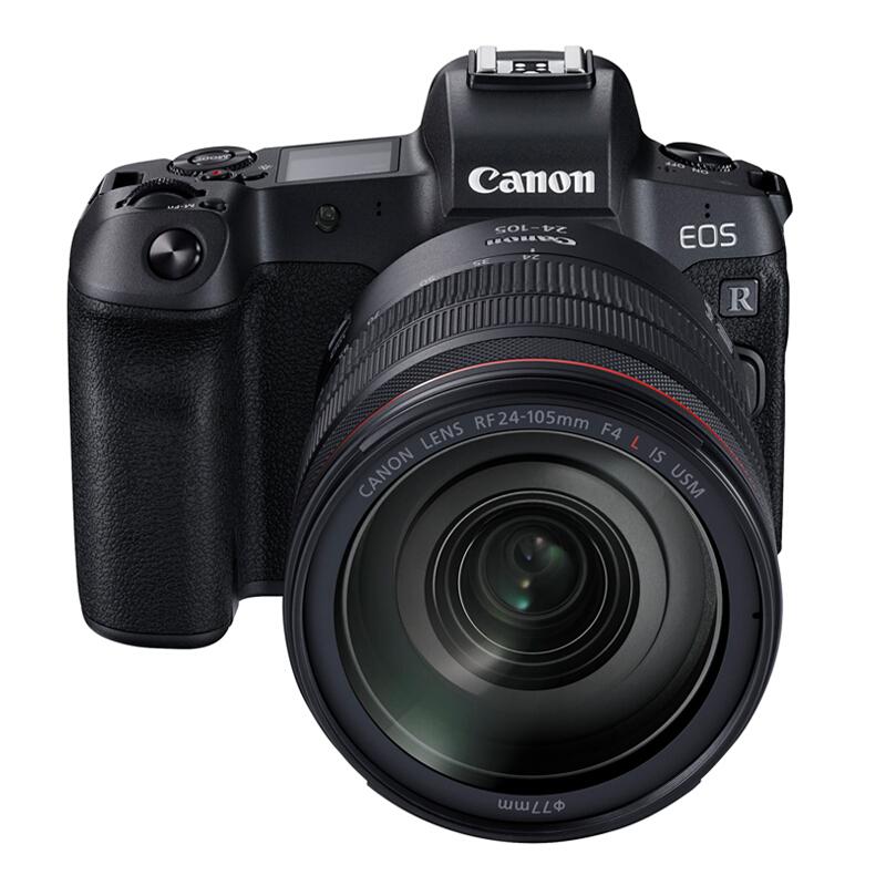佳能(Canon)EOS R  RF 24-105mm微单镜头 全画幅微单照相机(128G 4K内存+UV镜头+专用摄影包)
