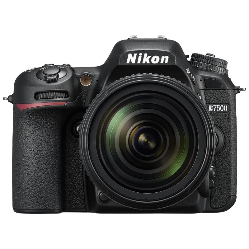 尼康(Nikon) D7500  数码单反相机(礼盒版+64G高速卡) 照相机