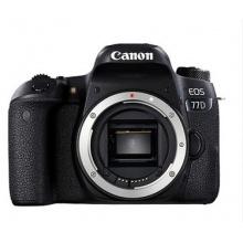 佳能 EOS-77D 数码单反照相机 (32G 内存+相机包) 照相机