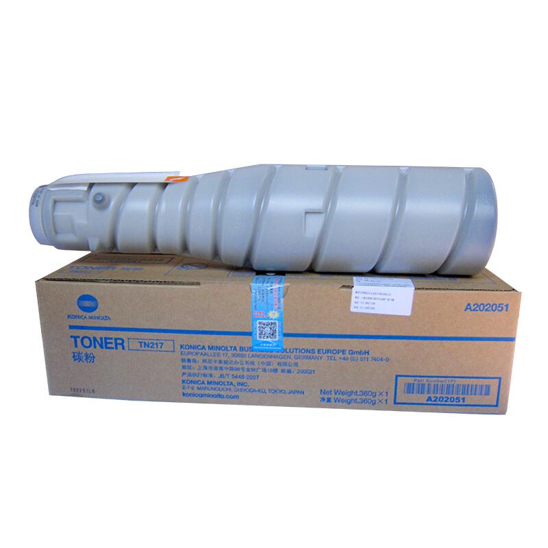 柯尼卡美能达 TN217 墨粉/碳粉 适用 机型 BH223 283 7828