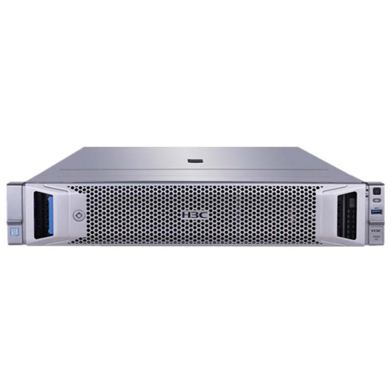 华三 H3C UniServer R4900 G3 机架式服务器 2颗intel 4208(2.1GHz/8核/11MB/85W) 磁盘阵列