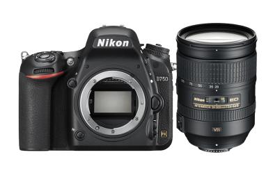 尼康(Nikon)D750 单反相机 全画幅 ( AF-S 尼克尔 28-300MM 单反镜头)+32G内存+摄像机包 照相机