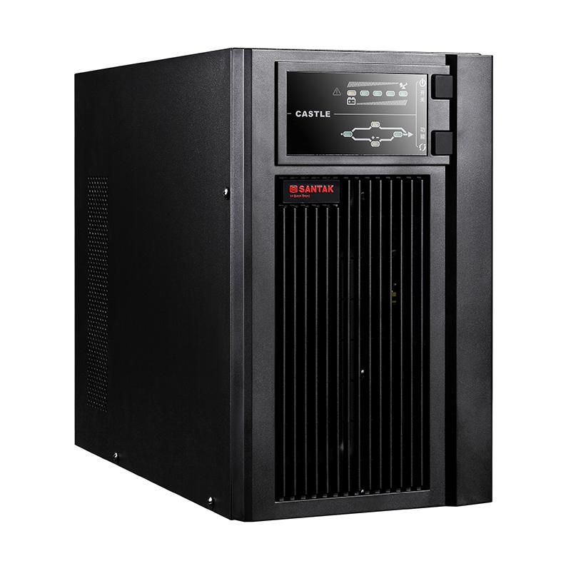 山特/Santak C3KS 不间断电源 (外加 山特C12-38电池*8节+丰创C-4电池箱)延时1小时