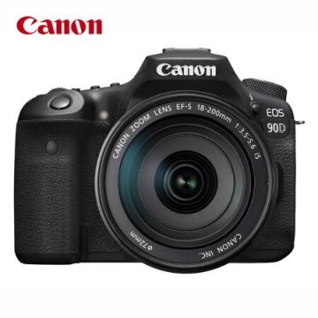 佳能/CANON EOS-90D单反套机 18-135mm镜头 照相机