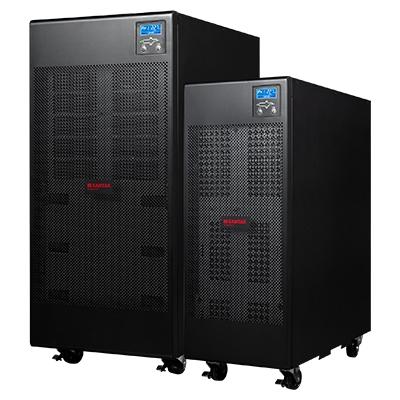 山特 C10KS 不间断电源 (外加12V-100AH电池*32、 C-16电池柜*3、安装辅件)