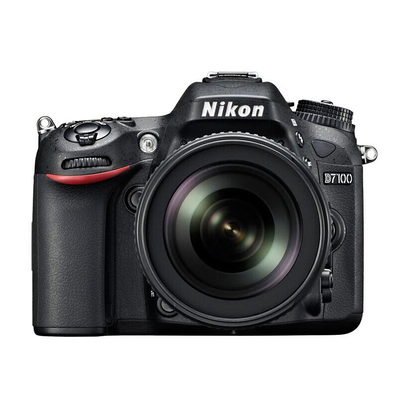 尼康D7100 单反套机 18-140mm镜头(主机+32G+相机包)照相机