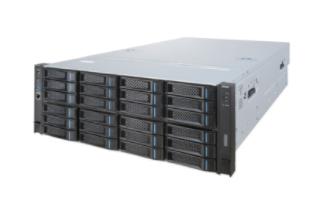 浪潮 NF8480M5 服务器 Intel Xeon 5218*4/16G*4/600G*4/800W电源*3/DVD光驱/上架导轨/集成4个千兆网口