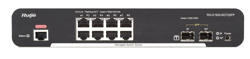 锐捷(Ruijie)RG-S1920-8GT2SFP 交换设备