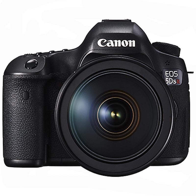 佳能 EOS-5DS 全画幅单反套机 照相机 24-105mm镜头(配64G内存卡+相机包)