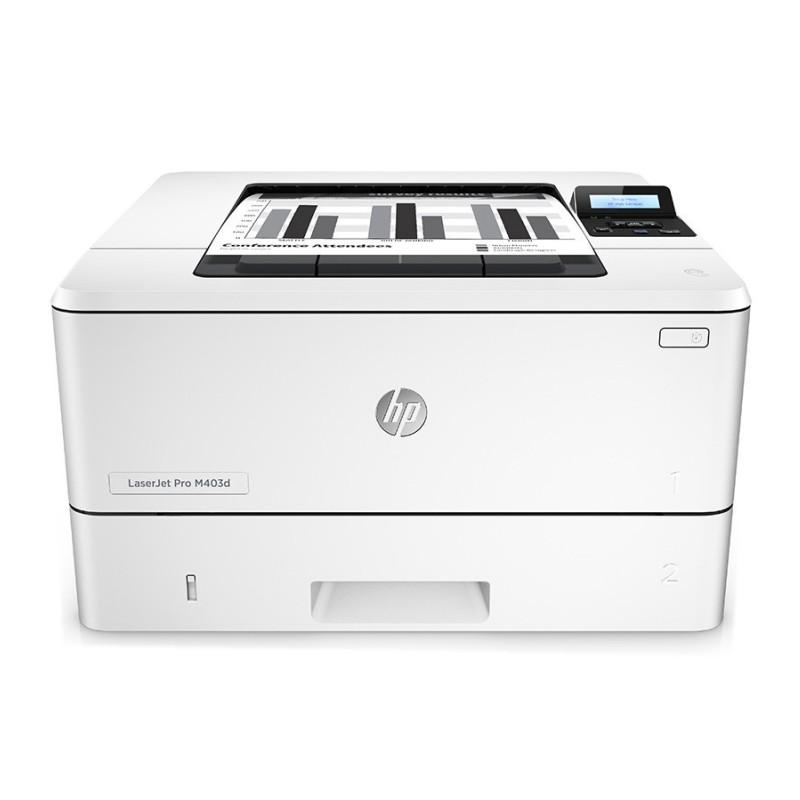惠普(HP)LaserJet Pro M403d 黑白 高速自动双面 激光打印机