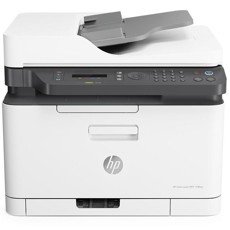 惠普/HP Color Laser MFP 179fnw A4彩色激光多功能一体机
