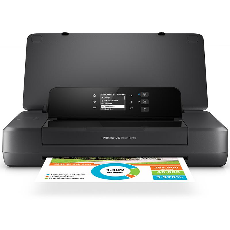 惠普/HP OfficeJet 200 移动便携喷墨打印机