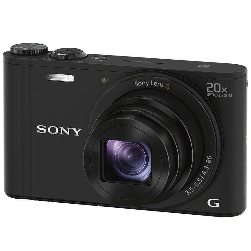 索尼/SONY DSC-WX350 数码相机 (主机+64G SD卡) 照相机