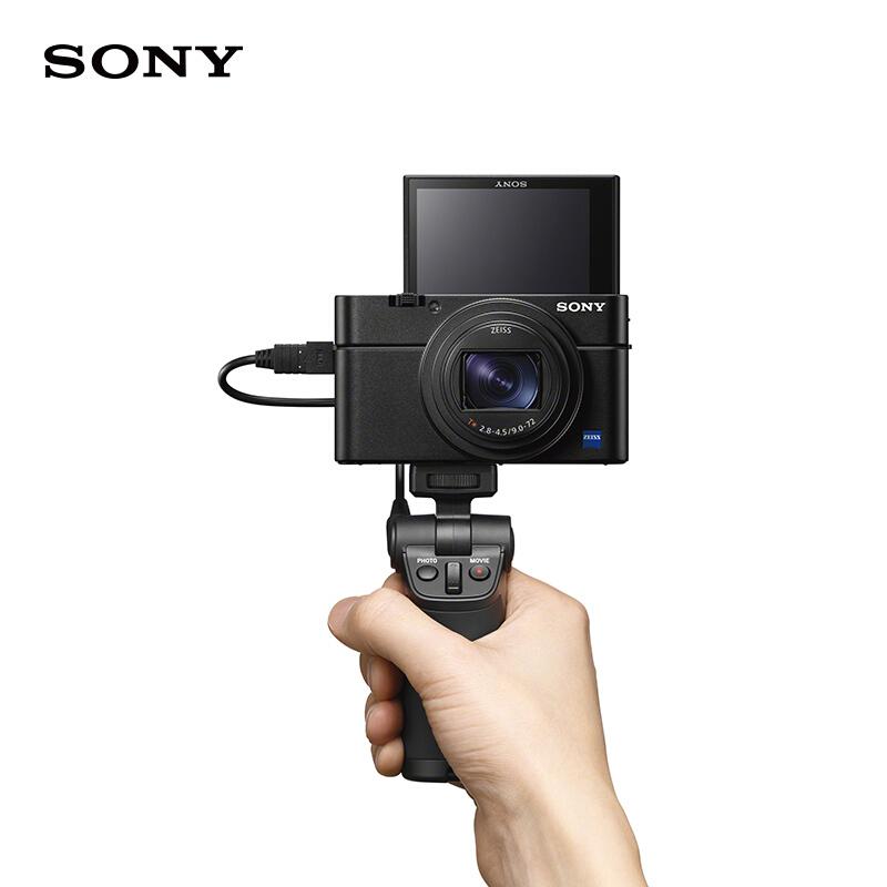 索尼(SONY)DSC-RX100M7 黑卡数码照相机(32G内存卡+相机包)