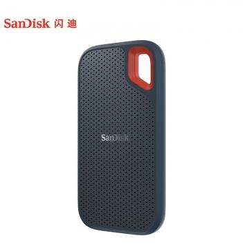 闪迪/SanDisk 1TB Type-c 至尊超极速 移动硬盘(SDSSDE80-1T00-Z25)