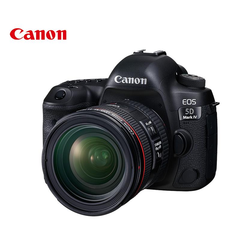 佳能(Canon)EOS 5D Mark IV 5D4 单反相机 单反套机 全画幅(24-70mm F2.8L II USM 单反镜头)摄像机