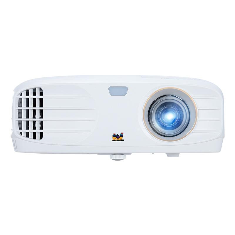 优派(ViewSonic)PX727 4K家庭投影 投影仪家用(4K超高清 HDR画质补偿 6段色轮 梯形校正 家庭影院)