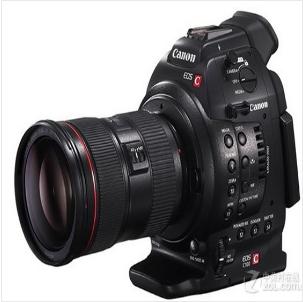 佳能(Canon) C100 17-40MM镜头 专业高清摄像机 (128G内存卡+相机包)摄像机