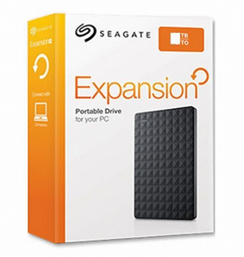 希捷/Seagate Expansion 新睿翼 4TB 2.5英寸移动硬盘 USB3.0(STEA4000400)