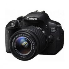 佳能/Canon EOS-700D 单反套机 18-55MM镜头(16G+相机包)照相机