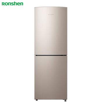 容声(Ronshen) 182升 小型双门两门电冰箱 风冷无霜 节能静音省电 大冷冻 星砂金 BCD-182WD11D 电冰箱