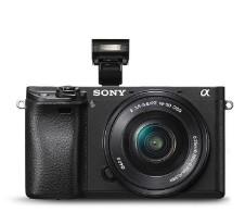 索尼 ILCE6500L/A6500 微单套机 16-50mm(32G内存卡+户外包) 照相机