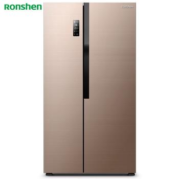 容声(Ronshen) 650升 对开门冰箱 一级变频 杀菌保湿 无霜 大双开门 智能 艾弗尔 BCD-650WD12HPA 电冰箱