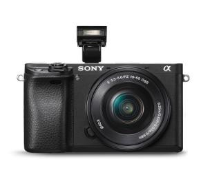 索尼A6500配16-50镜头 (32G内存卡➕摄影包➕摄影架➕保护镜)照相机