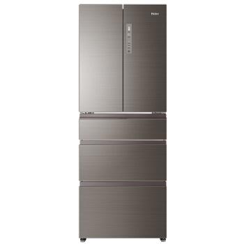 海尔(Haier)425升变频风冷无霜五门冰箱干湿分储 全温区变温 五门精细存储 一级节能 BCD-425WDGN 电冰箱