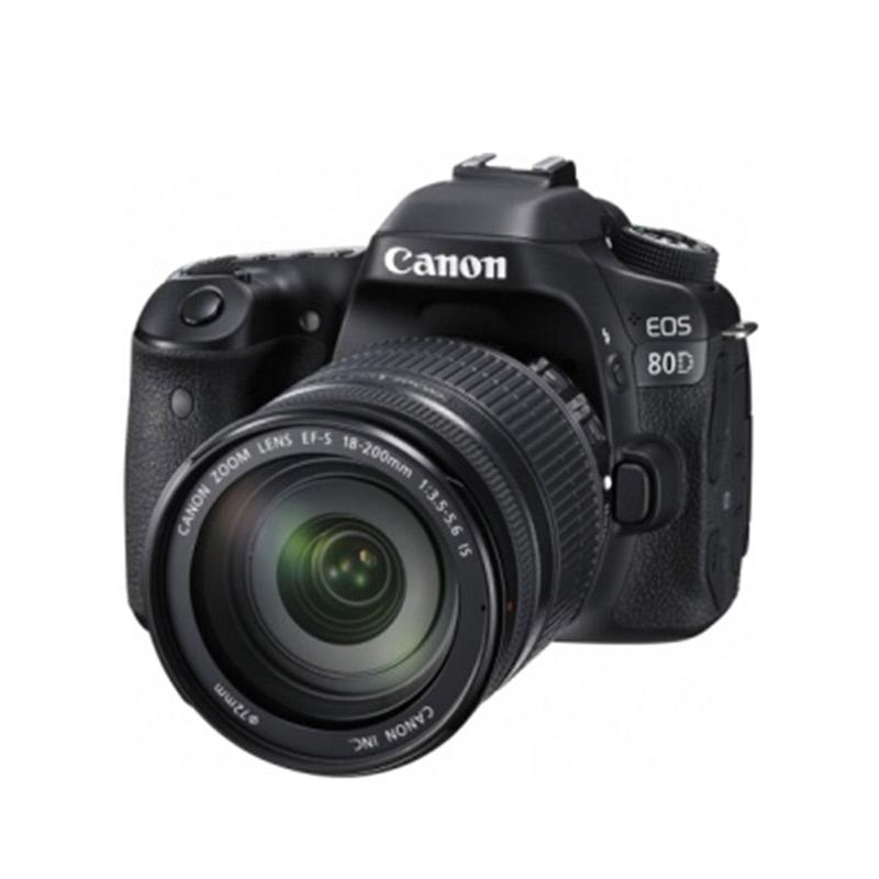 佳能(Canon)单反套机 EOS 80D ( EF-S18-200mm IS USM镜头)照相机