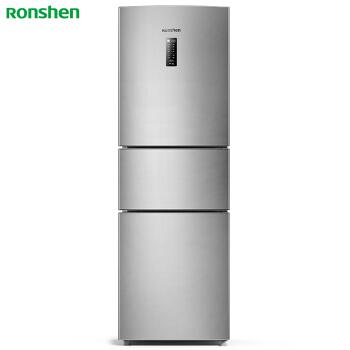 容声(Ronshen) 218升 风冷无霜三门冰箱 中门变温 电脑控温 静音节能 家用电冰箱 银BCD-218WD12NY