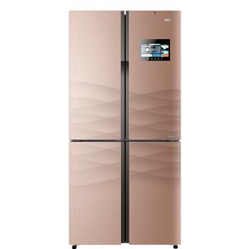 海尔(Haier)458升变频风冷无霜互联网冰箱 智能大屏交互 Smartfresh智能杀菌BCD-458WDIAU1 电冰箱