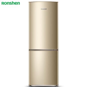 容声(Ronshen) 175升 一键速冻 经济实用小型两门 节能静音环保 星砂金外观 BCD-175D16D 电冰箱