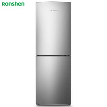 容声(Ronshen) 219升 小型两门冰箱 风冷无霜 静音节能 大冷冻 节能环保 双门电冰箱 银BCD-219WD12D