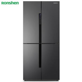 容声(Ronshen) 462升 十字对开多门冰箱 一级能效 双变频 独立变温空间 干湿分储 BCD-462WD11FP 电冰箱