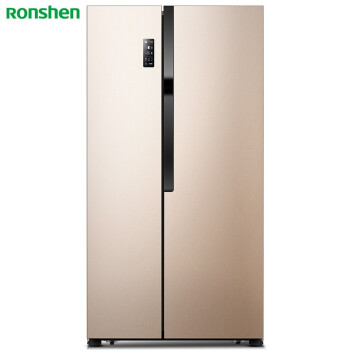 容声(Ronshen) 590升 对开门冰箱 一级能效 智能变频 抗菌净味 无霜 大对开门冰箱 BCD-590WD11HPA 电冰箱