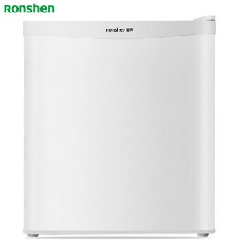容声(Ronshen) 43升 单门小型冰箱 家用迷你 门封保护 珍珠白 BC-43KT1 电冰箱