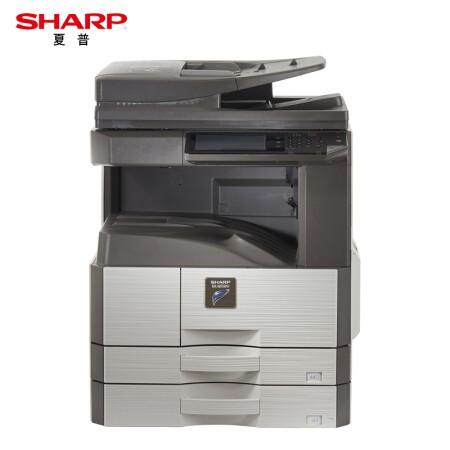 夏普(SHARP)MX-M3158NV 黑白复印机(含双面输稿器+双纸盒+工作台)