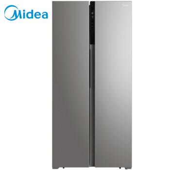 美的(Midea)452升 对开门冰箱 双变频风冷无霜 WiFi智能电冰箱 泰坦银BCD-452WKPZM(E)