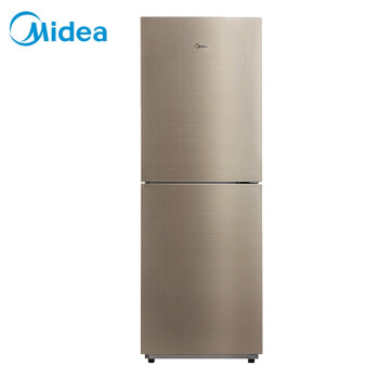 美的(Midea)236升 风冷无霜 HIPS环保内胆 节能静音双门电冰箱 流光金 BCD-236WM(E)